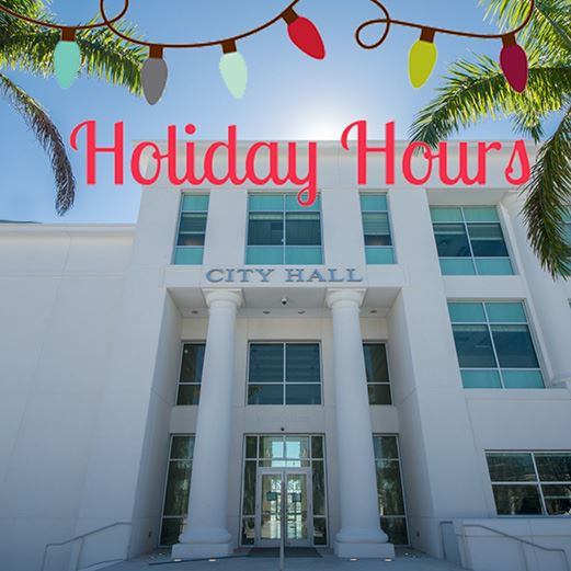 Holiday Hours 2017