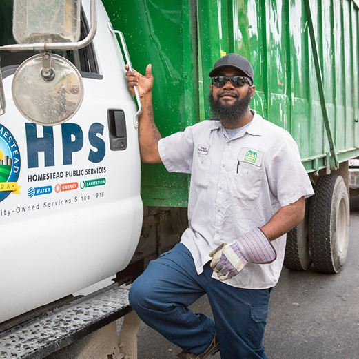 HPS Sanitation Staff Member