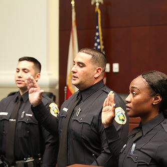 Reserve Officer Swearing In June 2019