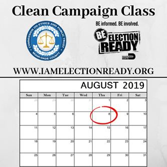Clean Campaign Class August 2019