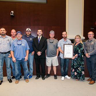 Mayor Shelley Proclaims August 21st Lineworkers Appreciation Day