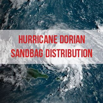 Hurricane Dorian Sandbag Distribution