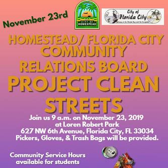 Project Clean Streets November 2019