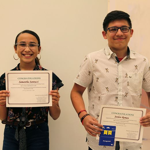 Councilman Roth CRB Fall 2019 Essay Winners