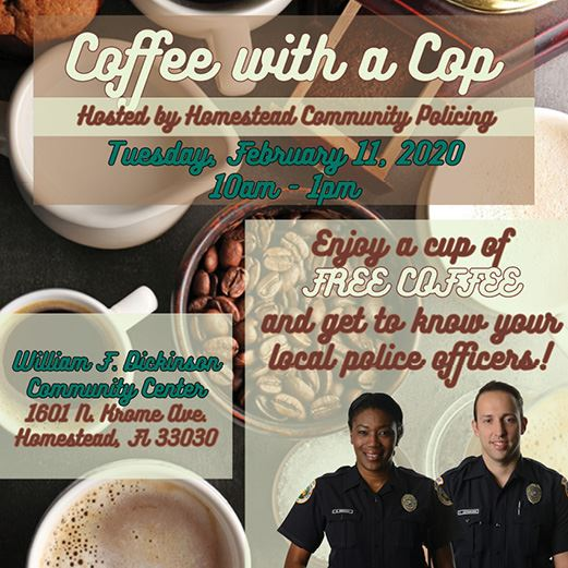 Coffee with a Cop February 2020