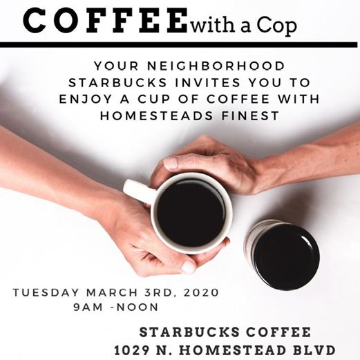 Coffee with a Cop March 2020