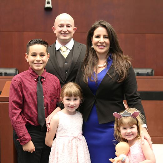 Councilwoman Avila Swearing In