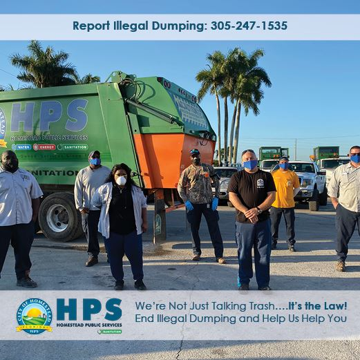 HPS Sanitation Staff in Masks
