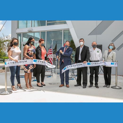 Cybrarium Ribbon Cutting